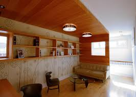 100 Contemporary Wood Paneling Cozy Home Library With HGTV