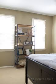 Decorating Ideas For An Industrial Farmhouse Guest Bedroom A Room Makeover Reveal With Rustic