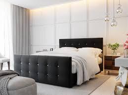 boxspringbett schlafzimmerbett mauro 180x200cm schwarz inkl bettkasten
