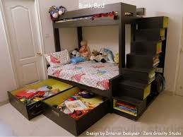 Bunk Bed Design By Interior Designer Zero Gravity Studio