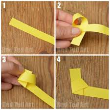 How To Make Origami Lucky Stars Steps