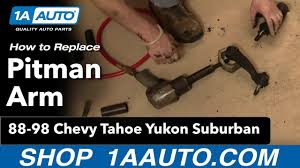 How To Install Replace Pitman Arm Chevy GMC Truck Tahoe Yukon ... 8898 Chevy Truck Bed Removal8898 B Best Resource 88 Blazer Parts Almaderockorg Photo 2018 1995 Silverado New Chevrolet C K 1500 Questions How To 98 Accsories Tonnosport Tonneau Cover 1986 S10 Pickup Racing 14 Mile Trap Speeds 060 Interior Front 1988 Drag Timeslip Specs To Install Heater Air Cditioning Blower Motor Gmc Bucket Seats For Upholstered 2017 Replace Door Hinge Pin Suv Gm Ls Retrofit Oil Pan Additional Earanceclassic