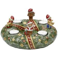 Spode Christmas Tree Village Cookie Jar by Villeroy And Boch Christmas Wreath Villeroy And Boch Christmas