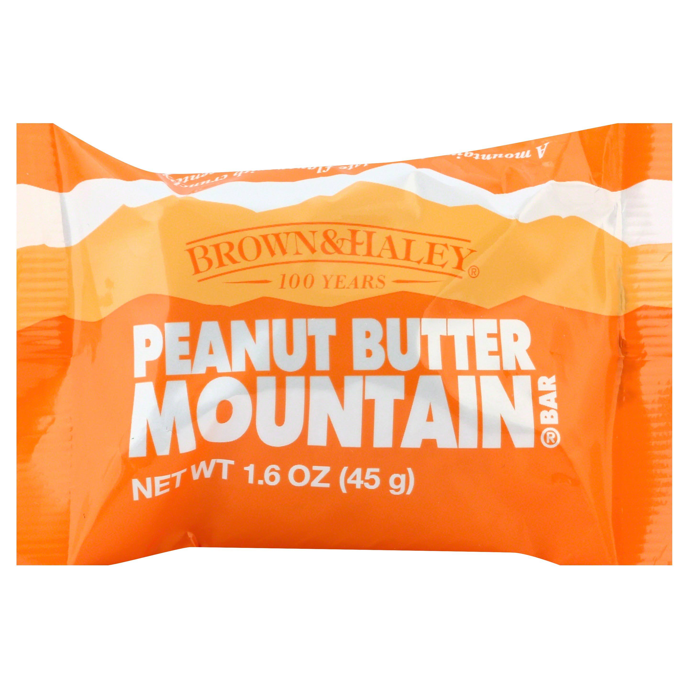 Mountain Bar, Peanut Butter - 1.6 oz