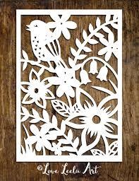 Paper Cutting Art Templates