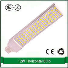 g24q le light l 12w g24 pl led 4 pin led bulb g24 base in