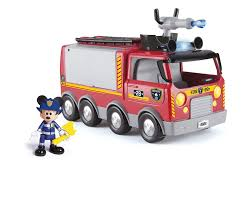 IMC Toys Mickey's Emergency Fire Truck: Mickey Mouse Clubhouse ...