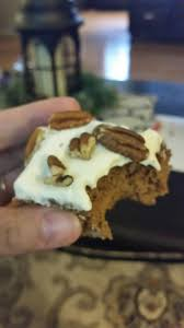 Trisha Yearwood Spiced Pumpkin Roll by Trimtastic Cake Made As A Pumpkin Spice Cake Lunch Yes Please