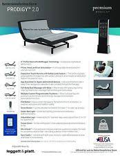 Leggett And Platt Adjustable Bed Frames by Leggett U0026 Platt Adjustable Beds Ebay
