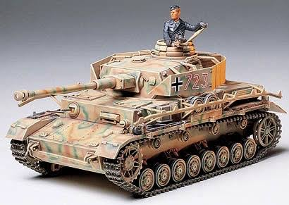 Tamiya 1:35 Scale German Panzer IV Type J Model Kit