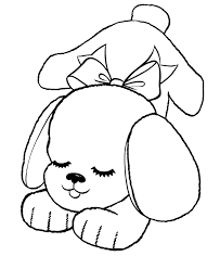 Toy Stuffed Dog Coloring Pages