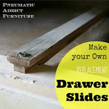 Dresser Drawer Slides Center Bottom Mount by How To Build Your Own Drawer Slides Www Pneumaticaddict Com Diy