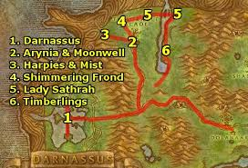 Wow Brackwell Pumpkin Patch Map by Ding80 U0027s Night Elf Leveling Guide Level 1 12