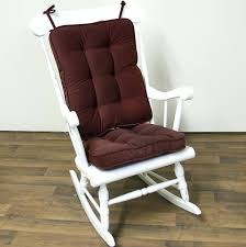 Rocking Chair Cushions Seat Nursery Room Sets Outdoor Kohls Outside Chairs Storage For Patio Cushion Church