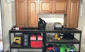Basement Storage Area In Organizing