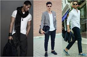 Black And White Clothing For Men