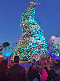 The Grinch Christmas Tree by Guide To Grinchmas 2017 At Universal Studios Hollywood