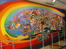 Denver International Airport Murals by Leo Tanguma The Children Of The World Dream Of Peace Den U2026 Flickr