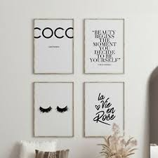 deko bilder drucke zitate fürs schlafzimmer günstig