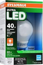 sylvania ultra led soft white 40 watt replacement 6 watt a19 light