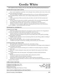 Personal Trainer Resume Template Free Sample Examples