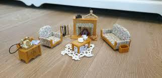 sylvanian families 5037 luxuswohnzimmer