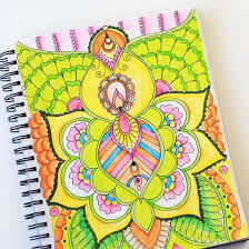 A Video Tutorial With Tips To Color Adult Coloring Pages Using Markers And Pencils