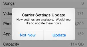 "What is that ""Carrier Settings Update"" Popup on Your iPhone"