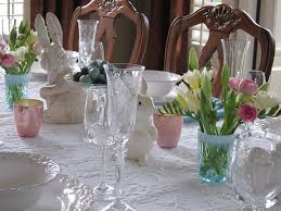 Easter Tables | Lori's Favorite Things ... Cfessions Of A Plate Addict How To Get The Pottery Barn Look Easter Tablescaping The Bitter Socialite Tablcapes Table Settings With Wisteria And Bunny 15 Best Snacks Easy Cute Ideas For Snack Recipes Inspired Glitter Eggs Home I Create Pottery Barn Bunny Belly Bowl New Easter Candy Dish Rabbit Table Casual Famifriendly Breakfast Entertaing Made Spring Setting Tulip Centerpiece 278 Best Bunniesceramic Images On Pinterest Bunnies 27 Diy Centerpieces Designs 2017