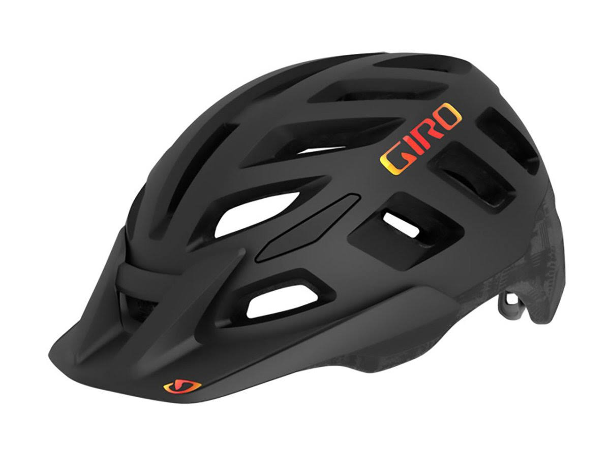 Giro Radix MIPS Helmet - Matte Black Hypnotic, Medium