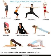 Yoga Poses To Lose Weight With Pictures