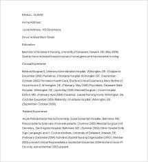 Nursing Tutor Resume Word Download