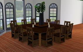 Dining Tables Large Round Room Table