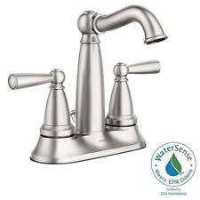 moen bathroom brushed nickel home faucets ebay