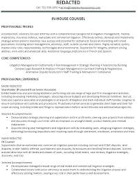 Lawyer Resume Format Template