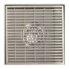 Sioux Chief Floor Drain Extension by Sioux Chief 821 T200pnq Square Pvc Shower Pan Drain Nickel