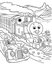 Thomas The Tank Engine Coloring Pages Online Download Kids