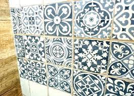 Retro Linoleum Floor Patterns Patterned Flooring Tiles Look Artisan Tile Wall Brick Pa Vinyl Vintage Lino Home Improvement