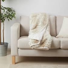 ilselill plaid beige weiß 130x170 cm