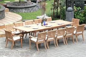 Extending Teak Patio Table Vs Fixed Length Dining Pros And Furniture Wood Set Cursohuellahidrica