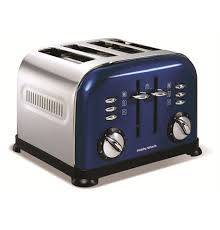 Accents Blue 4 Slice Toaster