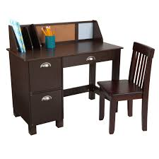 Kidkraft Easel Desk Espresso by Kidkraft Study Desk With Chair Espresso Toys