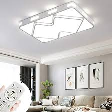 coosnug led deckenle 78w dimmbar 2 4g ferngesteuertes modern deckenle schlafzimmer deckenleuchten wohnzimmer energie sparen le fisch