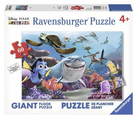 Ravensburger Disney Finding Nemo Floor Puzzle - Smile!, 60pcs