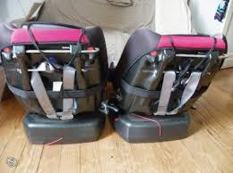 trottine siege auto 2 sièges auto bébé renolux trottine pivotants