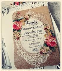 Pink Vintage Wedding Invitations Best 25 Ideas Simple