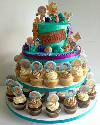Bubble Guppies Cake Decorating Kit by Bubble Guppies Cake U0026 Cupcakes My Cakes Pinterest Bubble