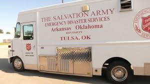 100 Salvation Army Truck Accepting Hurricane Harvey Relief Donations In Tu
