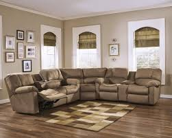 Brown Sectional Living Room Ideas by Sofa Leather Sectional Sofa With Recliner Small Leather
