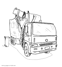 Good Garbage Truck Coloring Page 43 For Coloring Books With Garbage ... Mail Truck Coloring Page Inspirational Opulent Ideas Garbage Printable Dump Pages For Kids Cool2bkids Free General Sheets Trucks Transportation Lovely Pictures Download Clip Art For Books Printable Mike Loved Coloring The Excellent With To 13081 1133850 Mssrainbows Tracing Pack To And Print